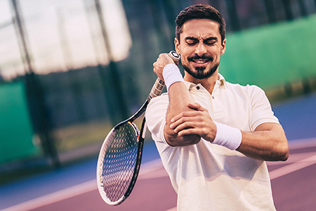 Suffering From Tennis Elbow